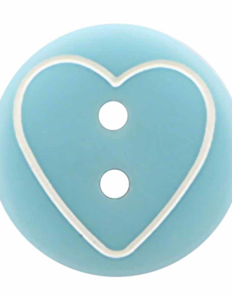 Cirque Cirque Heart 13mm 2-Hole Button