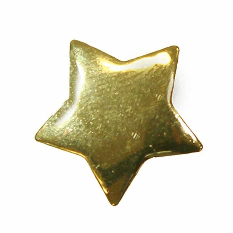 Cirque Cirque Star 13mm Shank Button Gold