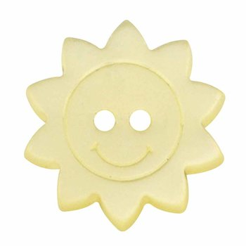 Cirque Cirque Sun 15mm Shank Button Yellow