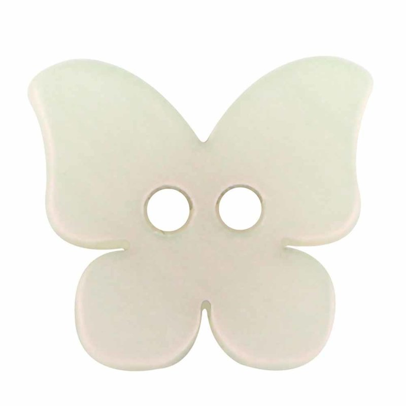 Cirque Cirque Butterfly 16mm 2-Hole Button Pink