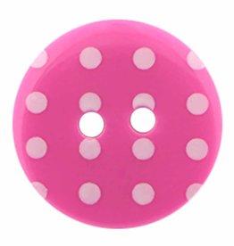 Cirque Cirque Polka Dot Round 18mm 2-Hole Button