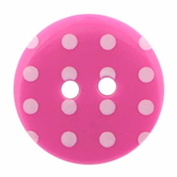 Cirque Cirque Polka Dot Round 18mm 2-Hole Button