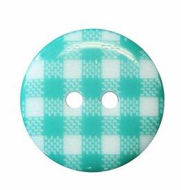 Cirque Cirque Plaid Round 20mm 2-Hole Button