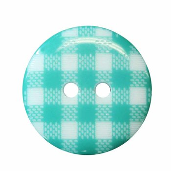 Cirque Cirque Plaid Round 20mm 2-Hole Button