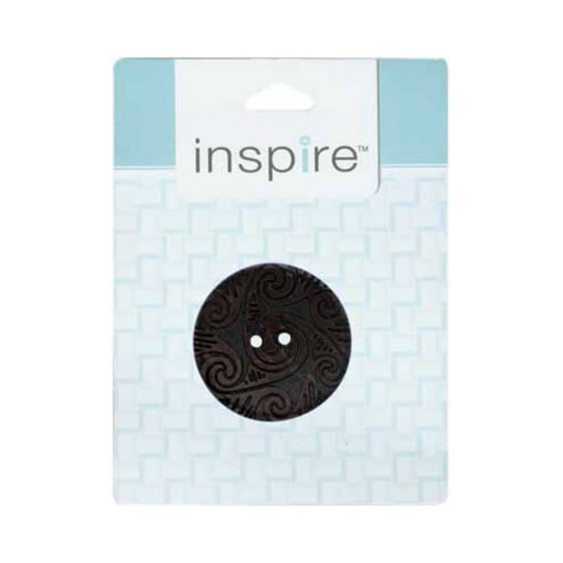 Inspire 41mm 2-Hole Btn, Brown