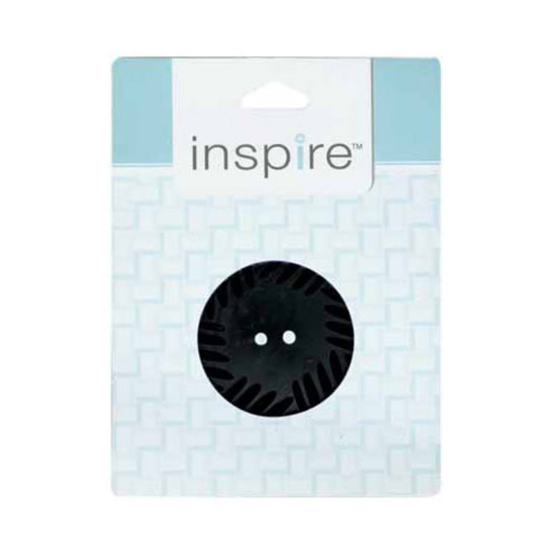 Inspire 41mm 2-Hole Btn, Black