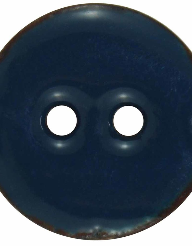 Inspire 18mm 2-Hole Btn, Navy