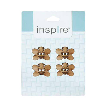 Inspire 29mm 2-Hole Btn, Lt. Brown