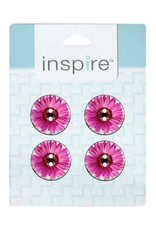 Inspire 23mm 2-Hole Btn, Pink