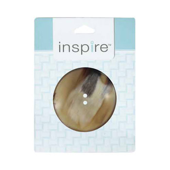 Inspire 60mm 2-Hole Btn, Natural