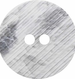 Inspire 34mm 2-Hole Btn, White