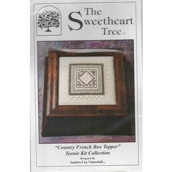 "The Sweetheart Tree The Sweetheart Tree ""Country French Box Topper"" Teenie Kit Collection"