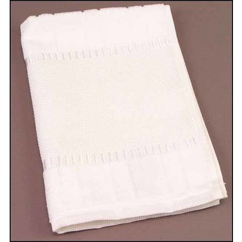 STS Crafts White Bella Fingertip Towel
