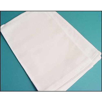 STS Crafts Madagascar Kitchen Towel - White