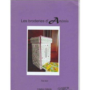 Les broderies d'Artemis Les broderies d'Artemis Tea Box