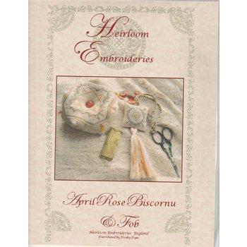 Heirloom Embroideries Heriloom Embroideries April Rose Biscornu & Fob