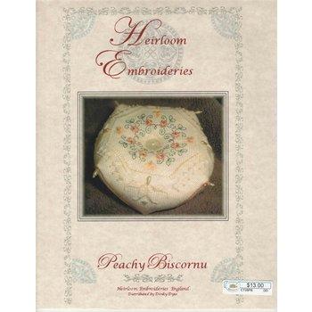 Heirloom Embroideries Heirloom Embroideries Peachy Biscornu