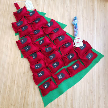 Mad Science Mad Science Dye & Fiber Sock Yarn Advent Calendar