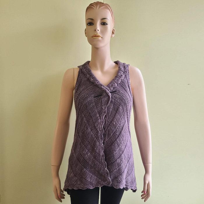 Shop Sample: Vine Street Vest - Completed!