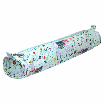 "Sew Easy Sew Easy Knitting Needle Storage Case - Llama - 18"" x 4.25"" x 2.75"""