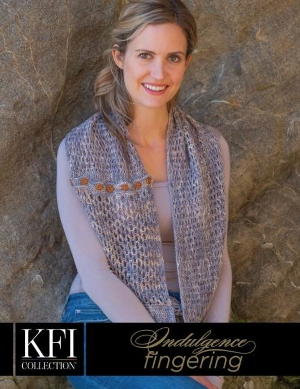 KFI Luxury Collection Knitting Fever Luxury Collection Indulgence Hand Painted Fingering