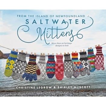 Boulder Publications Saltwater Mittens: From the Island of Newfoundland, More Than 20 Heritage Designs to Knit
