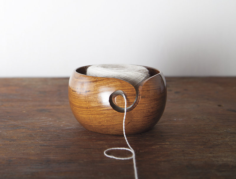 Knit Picks Knit Picks Rosewood Yarn Bowl