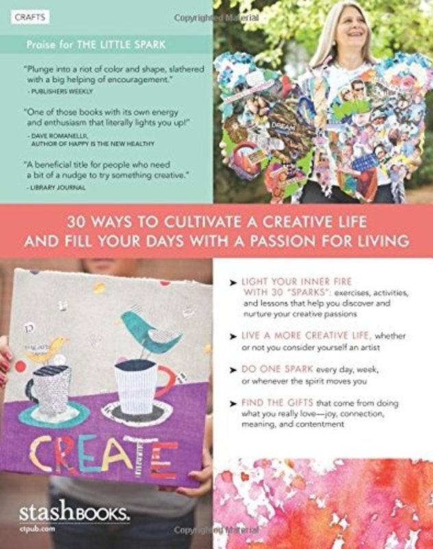 C&T Publishing The Little Spark - 30 Ways To Ignite Your Creativity