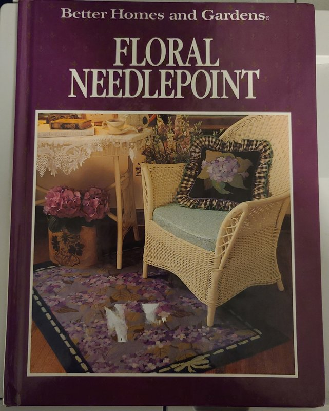 Better Homes & Gardens: Floral Needlepoint