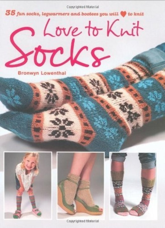 CICO Books Love to Knit, by Bronwyn Lowenthal