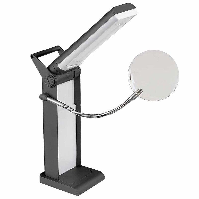 Unique Unique Lighting Foldable LED Desk Lamp