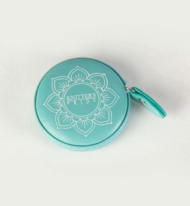 Knitter's Pride Knitter's Pride Mindful Collection Teal Retractable Tape Measure