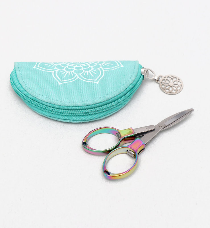 Knitter's Pride Knitter's Pride Mindful Collection Rainbow Folding Scissors