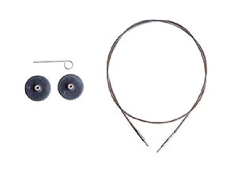 Knit Picks Knit Picks Interchangeable Cable (Black)