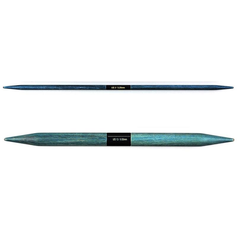 """LYKKE Crafts LYKKE Indigo 6"""" Double Pointed Needles"""