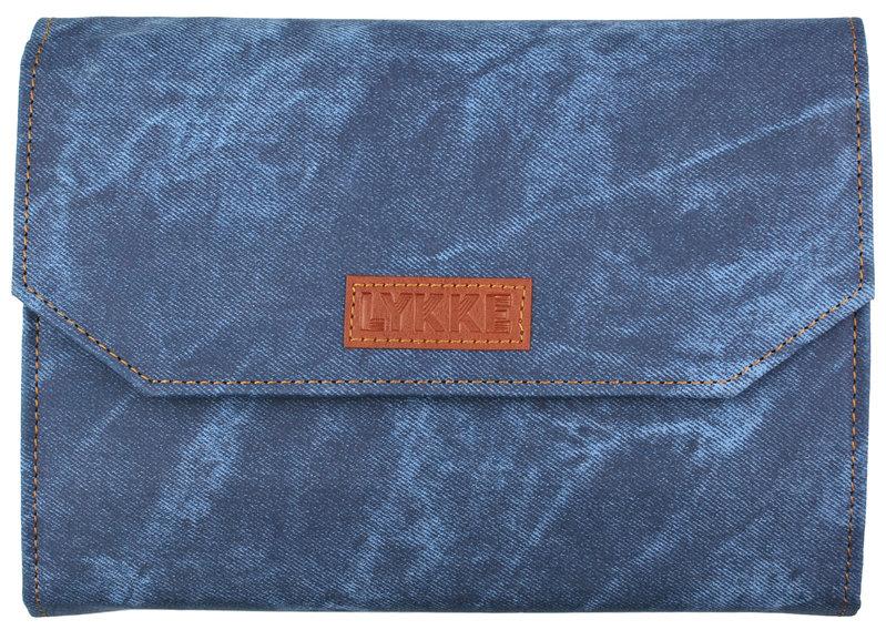 "LYKKE Crafts LYKKE Indigo 5"" Interchangeable Circular Knitting Needle Set - Blue Denim Effect"