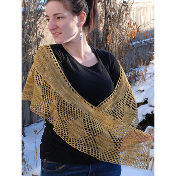 Ancient Arts Jagger Shawl Kit in Ancient Arts Revival Fingering