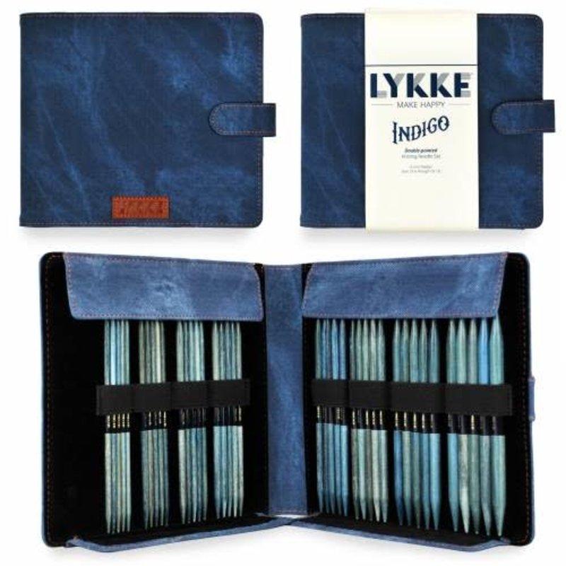 """LYKKE Crafts LYKKE Indigo 6"""" Double-Pointed Needle Set - Large Sizes"""