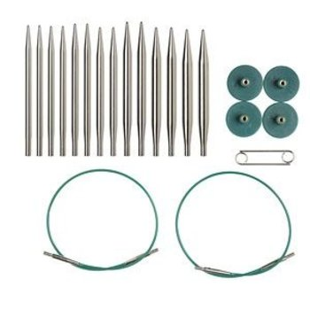 Knit Picks Knit Picks Nickel-Plated Interchangeable Circular Needle Set