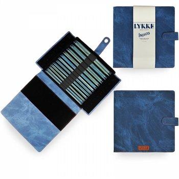 """LYKKE Crafts LYKKE Indigo 10"""" Straight Needle Set"""