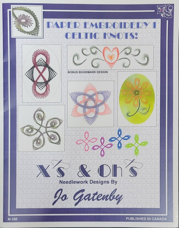 X's & Oh's X's & Oh's Paper Embroidery I Celtic Knots