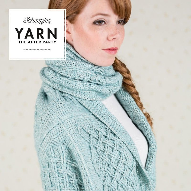 Scheepjes YARN The After Party No. 25 - Celtic Tiles Wrap