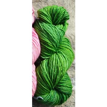 Mineville Wool Project Mineville - #2806 Merino Single-Ply DK - Lot #12 Green
