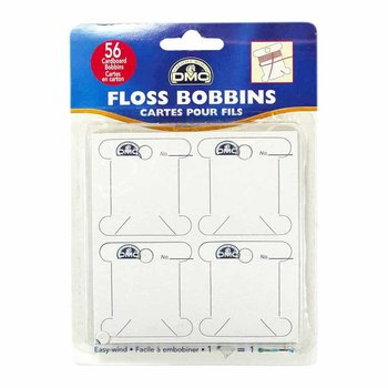 DMC DMC Cardboard Floss Bobbins - 56 pack