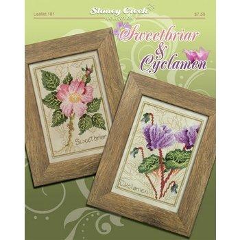 Stoney Creek Stoney Creek Collection - Leaflet 181: Sweetbriar & Cyclamen