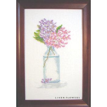Linen Flowers Linen Flowers Lilac Sensations