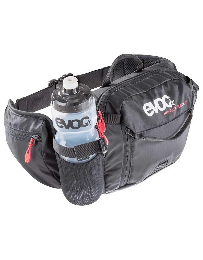 EVOC EVOC Hip Pack Race, Volume: 3L, Bladder: 1.5L, Black