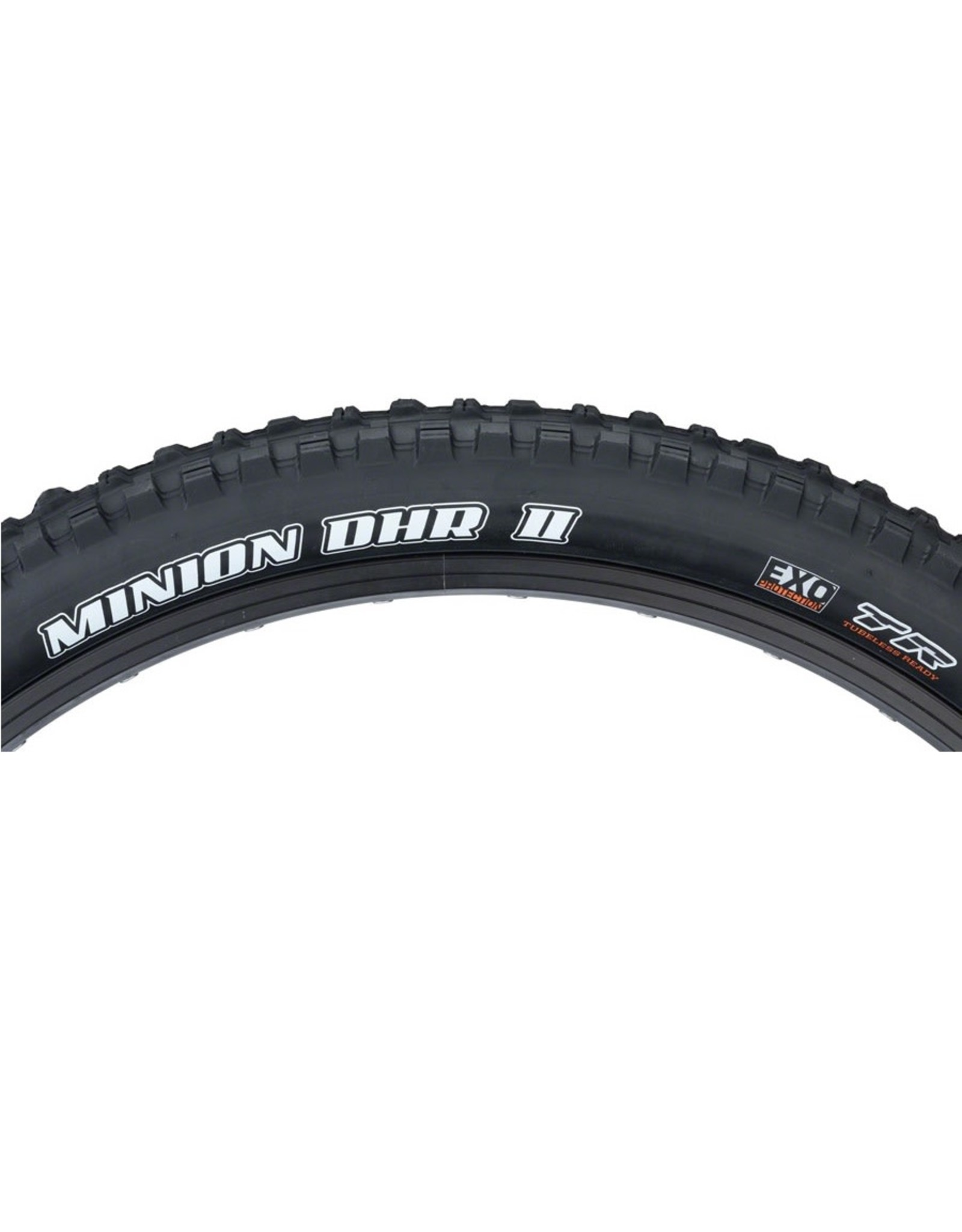 Maxxis Maxxis Minion DHR II Tire - 29 x 2.4, Tubeless, Folding, Black, Dual, EXO, Wide Trail