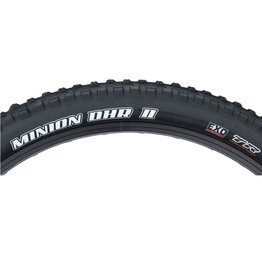 Maxxis Maxxis Minion DHR II Tire - 26 x 2.3, Tubeless, Folding, Black, Dual, EXO