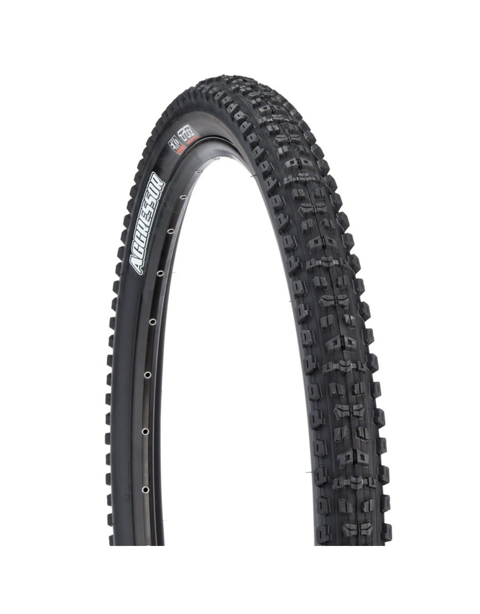 Maxxis Maxxis Aggressor Tire - 27.5 x 2.3, Folding, Tubeless, Black, Dual, EXO
